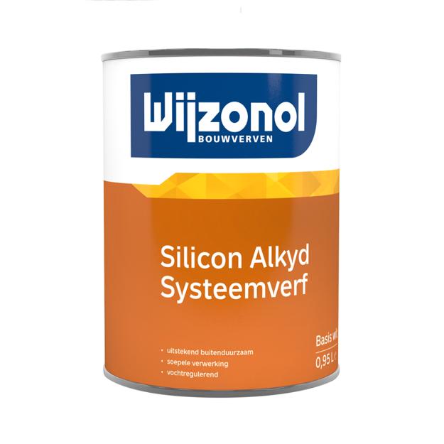Afbeeldingen van WIJZONOL LBH SIL. ALKYD SYSTEEMVERF BTR 0.4L
